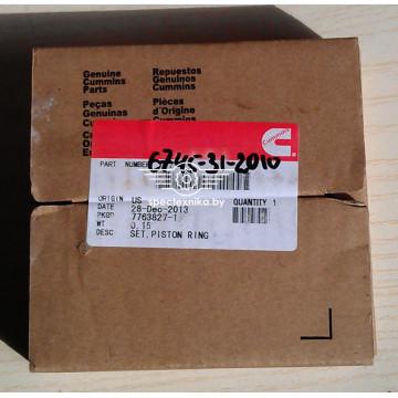 Комплект поршневых колец для KOMATSU (Комацу) PC300-8, PC350HD-8, WA430-6